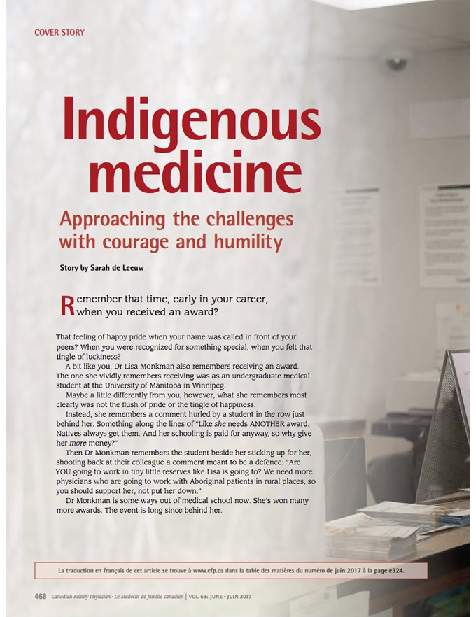Indigenous medicine: Approaching the challenges with courage and humility
