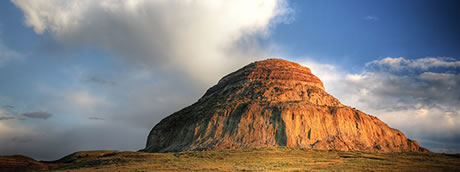 Castle Butte, Big Mud Valley, Saskatchewan