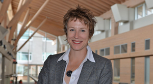 Northern Medical Program and Geography associate professor Dr. Sarah de Leeuw